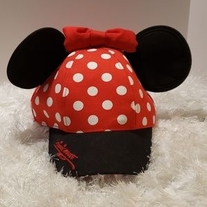 NWT Authentic Disney Parks Minnie Mouse Hat